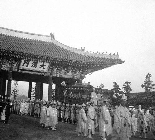 """首尔历史博物馆举行""""高宗皇帝的最后之路""""展示会"""