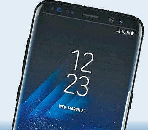 三星Galaxy S8将于29日举行全球首发仪式,新增人脸识别屏幕解锁功能
