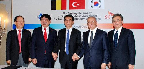 伊朗淘金潮,SK建设承揽4万亿韩元规模的民资发电站建设工程项目订单