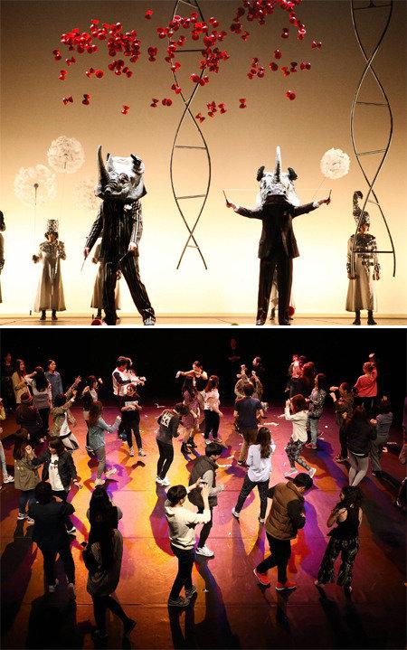 画家达利的超现实主义作品在舞台上成为现实
