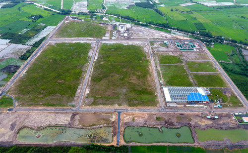 泰光实业在越南设立132万平方米的工业园