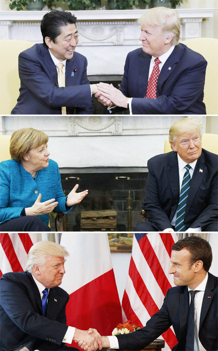 """青瓦台苦思""""特朗普握手""""应对之策"""