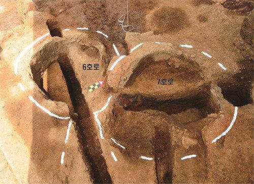 在忠州弹琴台再次大量发现百济时代的炼铁遗址