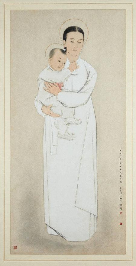 安重根义士遗墨和张遇圣的圣母子像将在梵蒂冈展出
