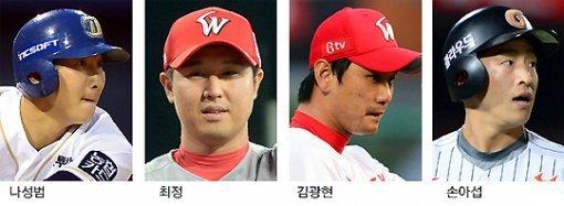 前NC队的泰晤士推荐罗成范-崔廷-金光贤-孙儿叶等四名KBO选手前往MLB