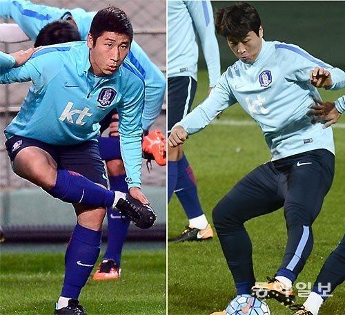 期待老将搭档李根镐和李同国能在俄罗斯世界杯亚洲区最终预选赛上帮助球队获胜