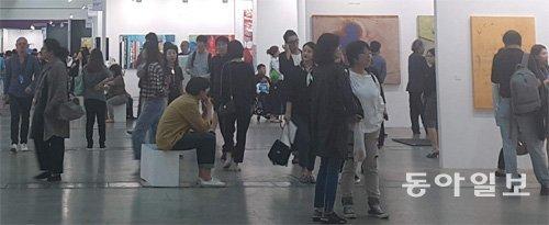 2017KIAF在首尔举行,观众逾5万名、交易额达270亿韩元