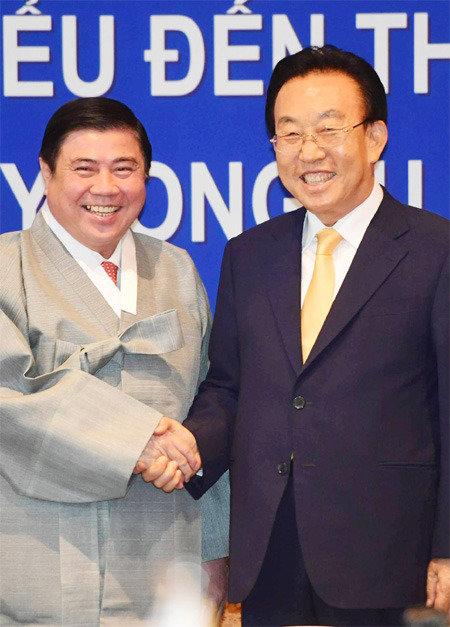 """""""期待本次胡志明-庆州世博会成为韩越两国超越合作关系发展成为家庭关系的契机"""""""