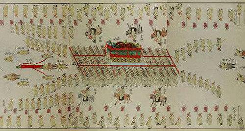 英祖的国葬-高宗的陵行,我们来看看朝鲜时代王的队伍