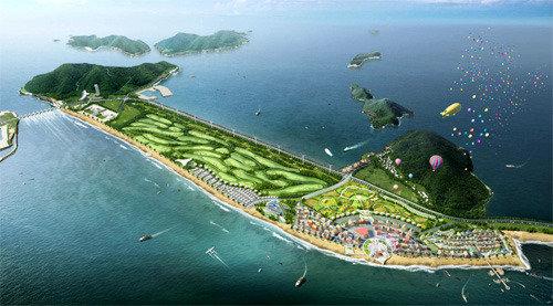 新万金地区将建造275个足球场规模的海洋疗养设施