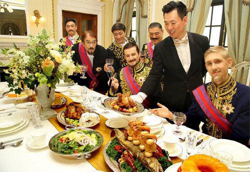 大韩帝国皇室晚宴菜单—鹅肝和松露