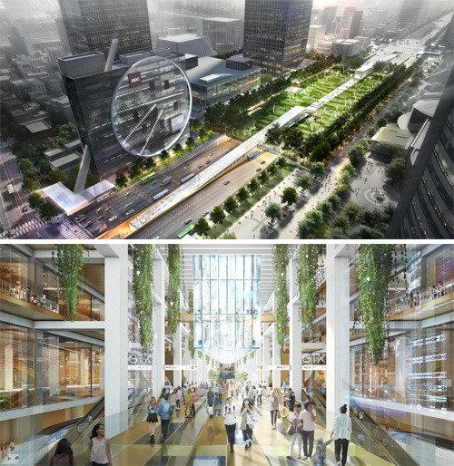 江南中心永东大路将建设相当于光华门广场1.5倍规模的公园