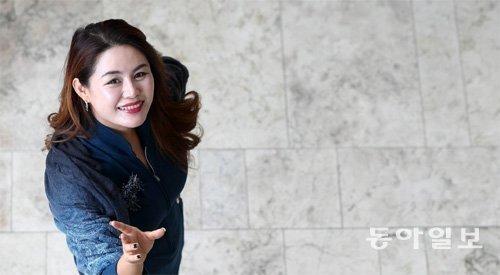 被擢拔为意大利歌剧《茶花女》主人公的韩国女高音歌唱家姜惠明