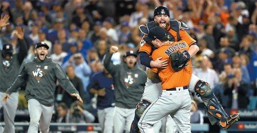 MLB世界大赛落幕,休斯敦太空人抢七力克道奇夺队史55年首冠