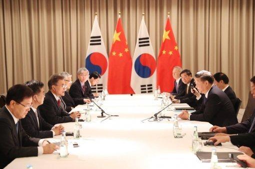 韩中翻篇萨德问题,11日就北韩核问题谈判……文在寅总统与习近平主席第二次元首会晤