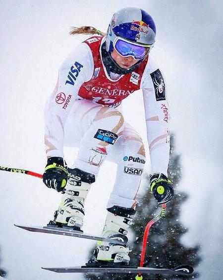 """""""高山滑雪女帝""""林赛-沃恩参加男子组比赛的梦想能否成真?"""
