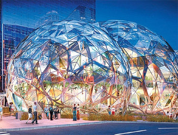 """""""哈利法塔""""和亚马逊总部""""生态穹顶""""的设计公司将负责"""