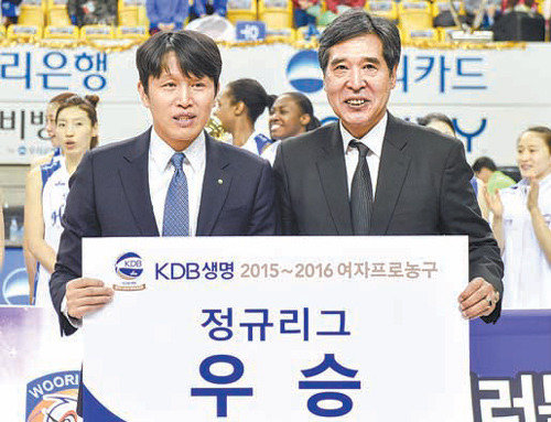Woori Bank goes to the finals in women's pro-basketball