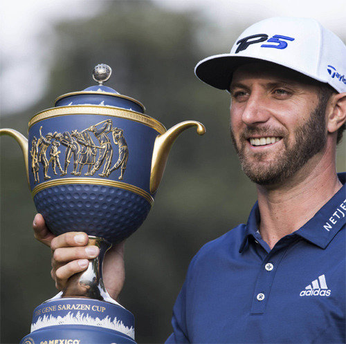 Dustin Johnson wins Mexico Championship to claim 2nd victory