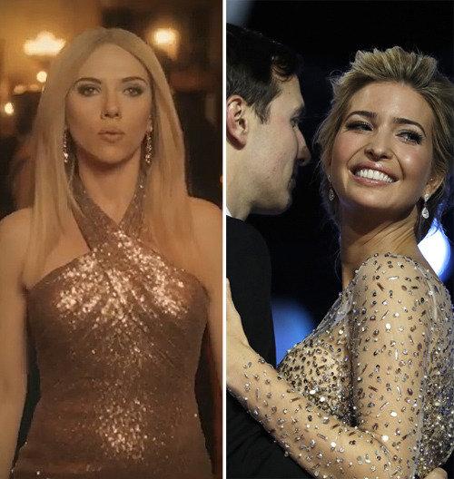 Scarlett Johansson parodies Ivanka Trump in SNL