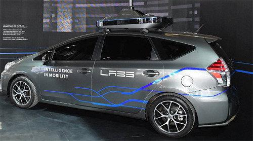 Naver unveils its autonomous car at Seoul Motor Show
