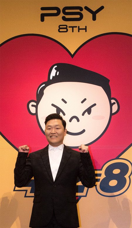 Psy releases his 8th album
