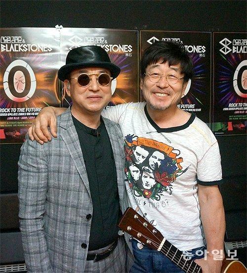 Black Stones' 1st album concert held marking Sanulim's 40th anniversary