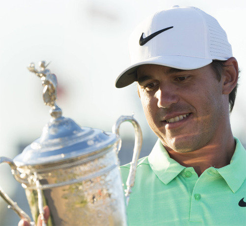 Brooks Koepka wins US Open, jumping in global rankings to 10th