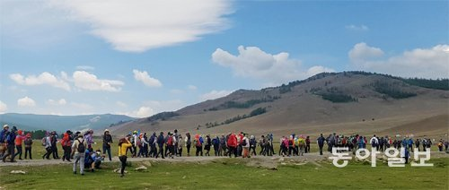 Olle Trail opens in Mongolia's grasslands
