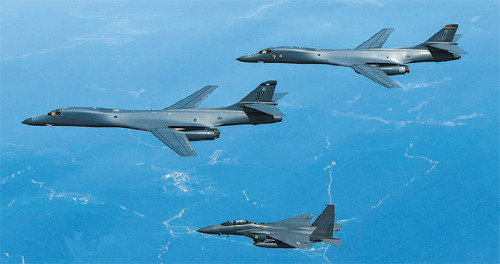 USFK makes unusual request for photos on B-1B bombers