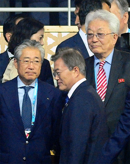 N.K. rejects Moon's offer for single team for Olympics in 2 hours