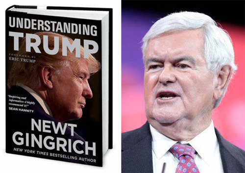 Gingrich's book gives tips on how to deal with Pres. Trump