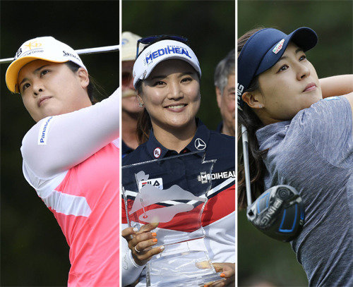 Korean female golfers bet hopes at the remaining LPGA Tour competitions