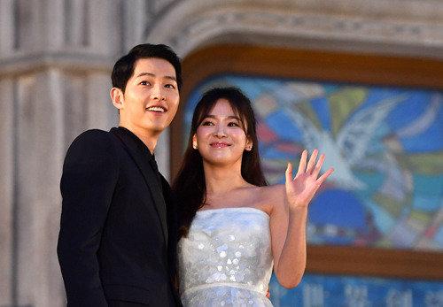 Actress Song Hye-kyo donates100 million won to children's hospital