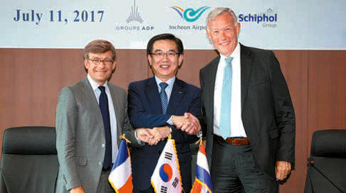 Incheon airport creates world's 1st alliance with French and Dutch airports