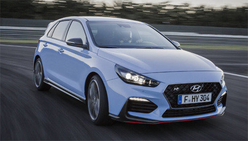 Hyundai Motor unveils high-performance vehicle i30 series