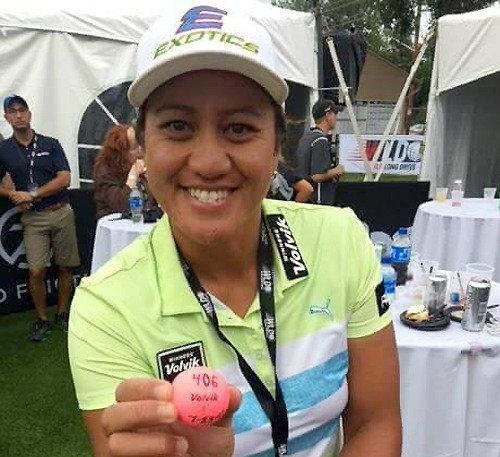 Kiwi golfer breaks women's long drive world record