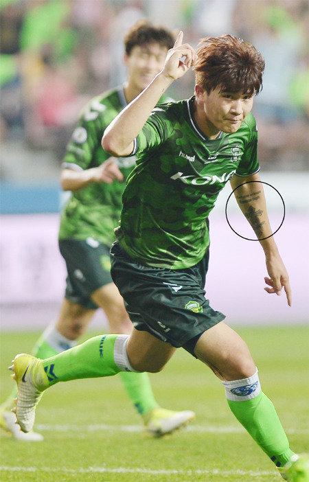 Kim Min-jae in K League Classic's Jeonbuk in spotlight