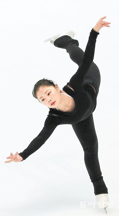 Figure skater Kim Ha-neul aims for Pyeongchang Olympics