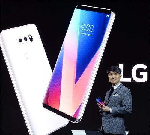 LG unveils flagship V30 smartphone at IFA Berlin