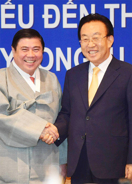 'Korea and Vietnam are in-law countries set to become a family'
