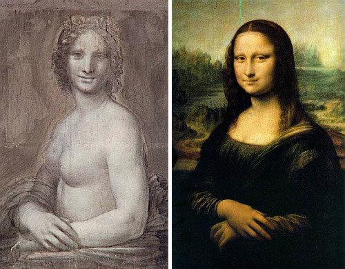 Leonardo da Vinci may have drawn nude Mona Lisa