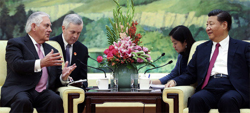 N.K.–U.S.–China–Russia talks underway without S. Korea