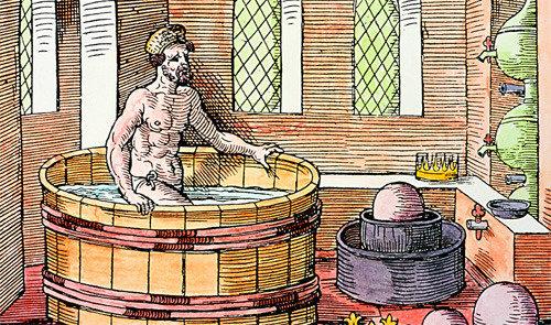 Archimedes' bathtub is first lab of mankind