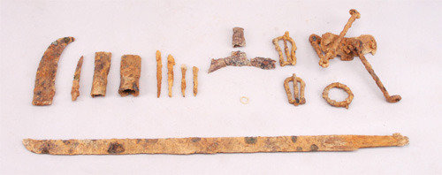 Ancient horse harnesses excavated in North Jeolla Province