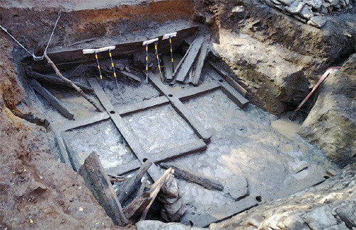 Largest storage shed of Baekje discovered in Cheonan