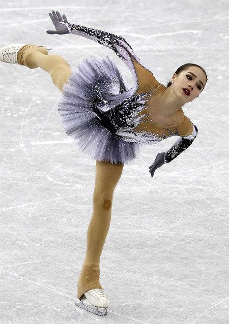 Will Russian skater Alina Zagitova take over the ice rink?
