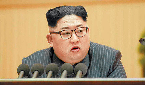 Kim Jong Un says he will embark on large and bold projects