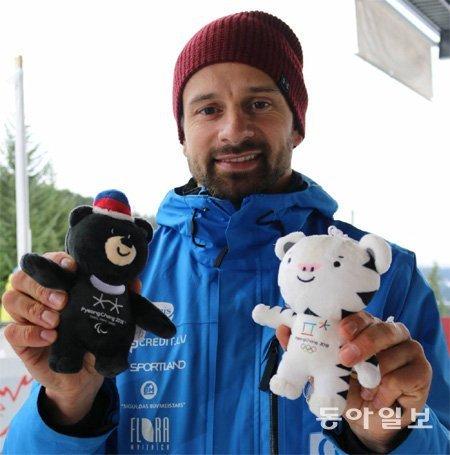 Skeleton hero Martins Dukurs vies for 2 gold medals in Pyeongchang
