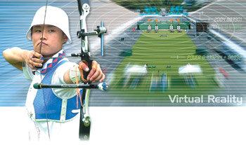 Korean Archers Push Imaginary Reality